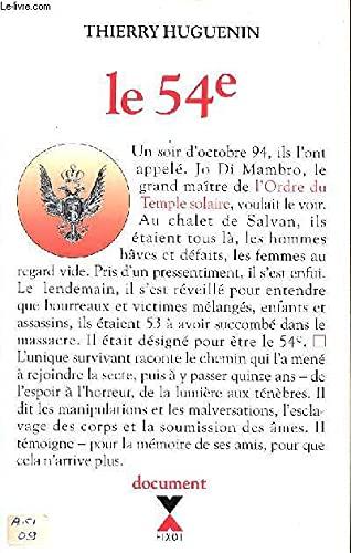 9782221080450: Le 54e : Document