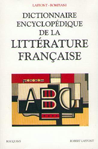 9782221089538: Dictionnaire encyclopédique de la litterature française (Bouquins)