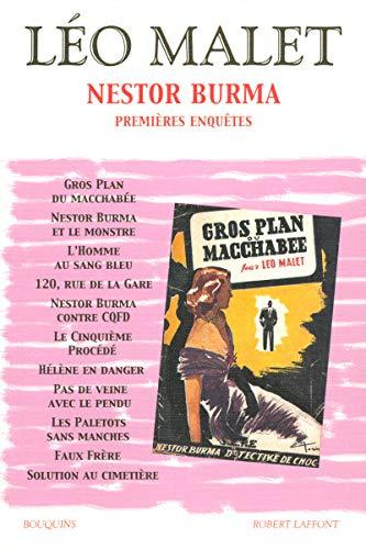 9782221104385: Nestor Burma : Premières enquêtes. Tome 1 des éditions des romans de Léo Malet