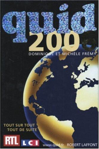 9782221104484: Quid 2006