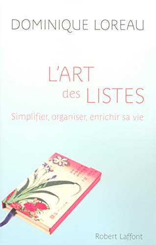 9782221109311: L'art des listes (French Edition)