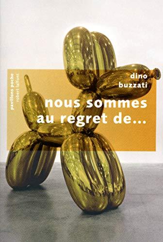 9782221114483: Nous sommes au regret de... (French Edition)