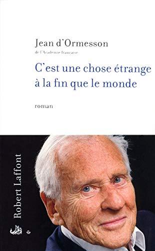 9782221117026: C'est Une Chose Etrange a La F Fl (French Edition)