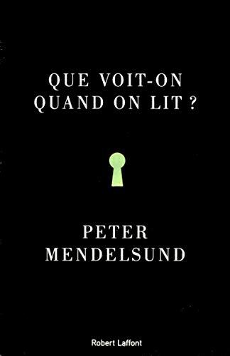 Que voit-on quand on lit ?: Mendelsund, Peter