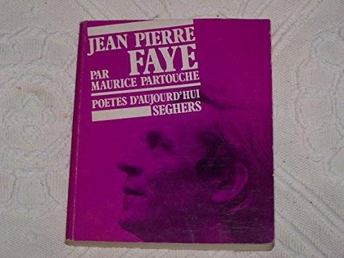 JEAN-PIERRE FAYE: Partouche, Maurice