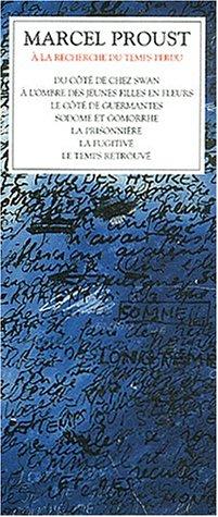 9782221913031: A la recherche du temps perdu Coffret 3 volumes
