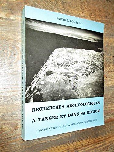 9782222012993: Recherches archeologiques a tanger et dans sa region (Etu Ant Afr 7/1)