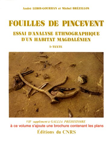 9782222014799: Fouilles de Pincevent: Essai d'analyse ethnographique d'un habitat magdalenien : la section 36 (7e supplement a