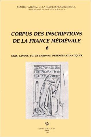 9782222028291: Corpus des inscriptions de la France medievale -06