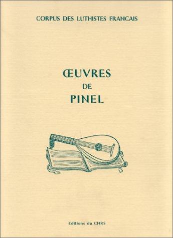 Oeuvres de Pinel --- [ Corpus des: VACCARO ( Jean-Michel