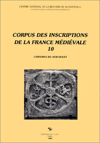 9782222036968: Corpus des Inscriptions de la France Medievale -10