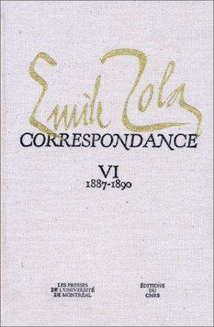 9782222039099: Correspondance, tome 6 : 1887-1890