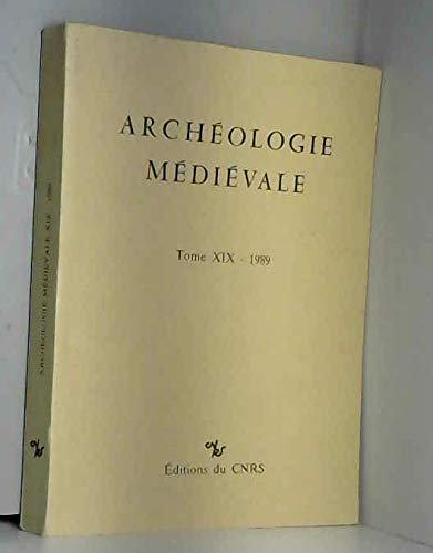 9782222042778: Arch�ologie Medievale 19 - 1989
