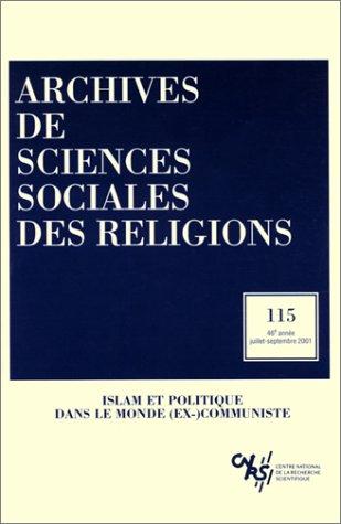 Archives de sciences sociales des religions, numéro: Collectif