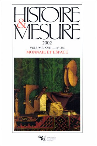 Histoire et Mesure 17/3-4 (French Edition): Collectif