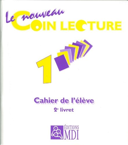 9782223010097: pack cahier coin lecture 1/2 x 5 ex