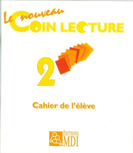 PACK 5 EXEMPLAIRES CAHIER COIN LECTURE 2 NOUVEAU MODELE (French Edition): Collectif