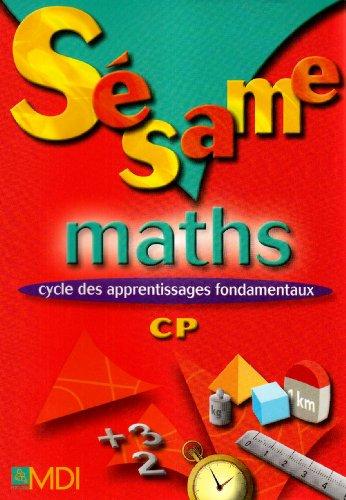 Sesame Maths CP (French Edition): Gryffon Camille