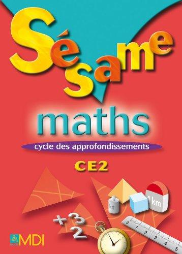 Sesame Maths CE2 (French Edition): Gryffon Camille