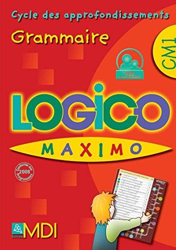 Logico maximo grammaire cm1: Collectif