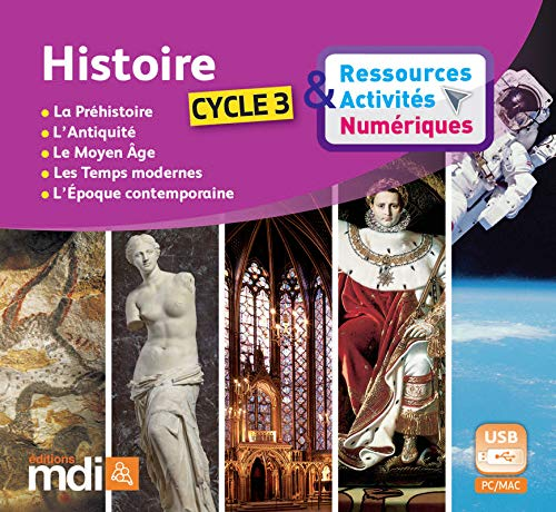 Cle Usb Histoire Cycle 3 Mdi: Collectif