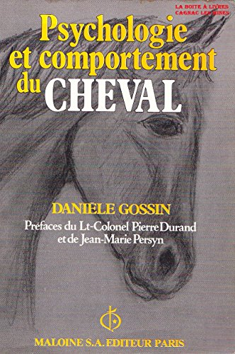 9782224008352: Psychologie et comportement du cheval