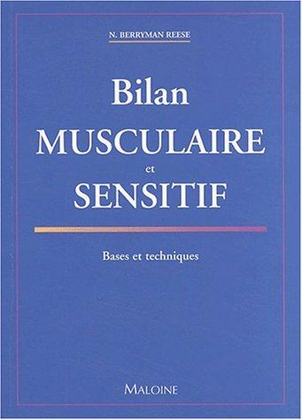 9782224027575: Bilan musculaire et sensitif (French Edition)