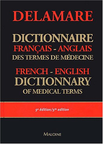 9782224028022: English-French Dictionary of Medical Terms (French Edition)