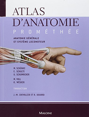 9782224028466: Atlas d\'anatomie promethee. volume 1 : anatomie ...