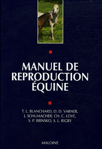 9782224028640: Manuel de reproduction équine (French Edition)