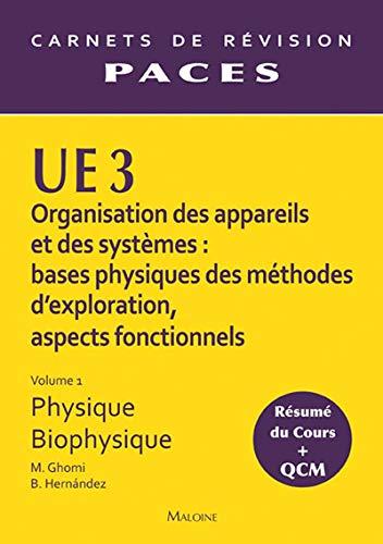 UE3 PHYSIQUE - BIOPHYSIQUE VOL1: GHOMI HERNANDEZ