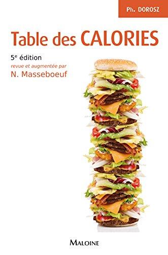 9782224030711: Table des calories