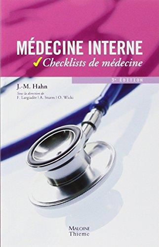 9782224030964: Médecine interne (French Edition)