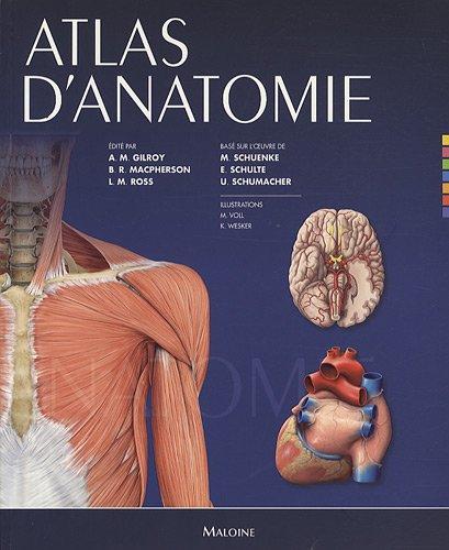 9782224031596: Atlas d'anatomie