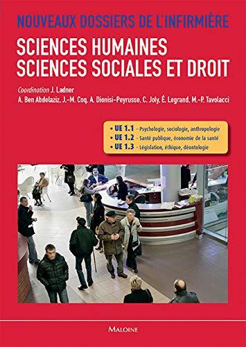 Sciences humaines, sciences sociales et droit : UE 1.1, UE 1.2 et UE 1.3: Am�lie Dionisi-Peyrusse, ...