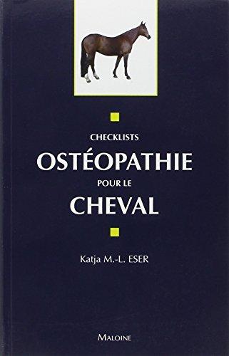 9782224033354: Ostéopathie pour le cheval