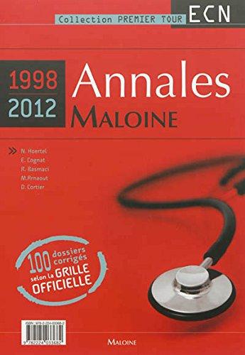 9782224033682: Annales Maloine Internat-ECN 1998-2012 : 3 volumes