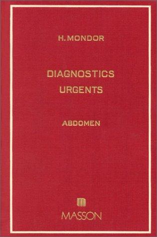9782225204500: DIAGNOSTICS URGENTS. ABDOMEN