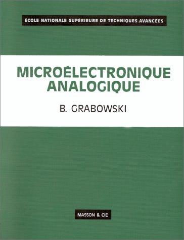 Microélectronique analogique [Jan 01, 1971] Grabowski