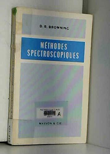 9782225378409: Méthodes spectroscopiques