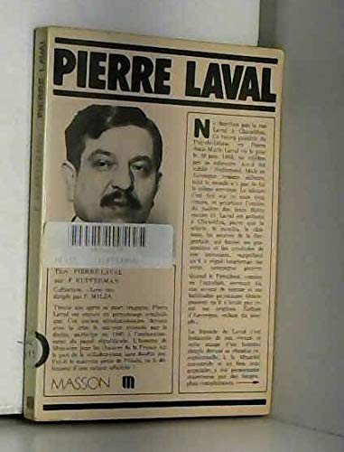 9782225451553: Pierre Laval (Collection Leur vie) (French Edition)