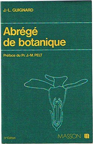 9782225464102: Abrégé de botanique - à l'usage des étudiants en pharmacie - 3ème édition