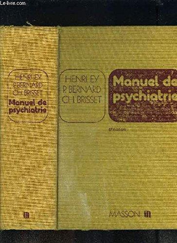 9782225471803: Manuel de psychiatrie