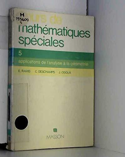 9782225693229: Cours de maths spe algebre t1