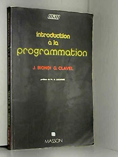 9782225696206: Introduction à la programmation