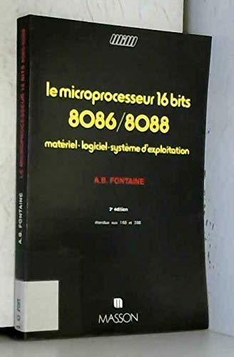 9782225803130: Le Microprocesseur 16 bits-8086-8088
