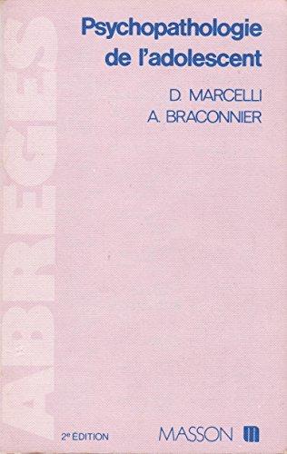 9782225813528: Psychopathologie de l'adolescent