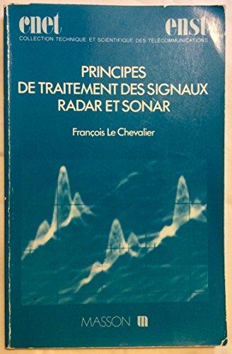 9782225814235: Principes et Traitement des Signaux Radar et Sonar