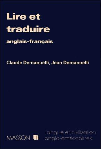 9782225821196: LIRE ET TRADUIRE. Anglais-français
