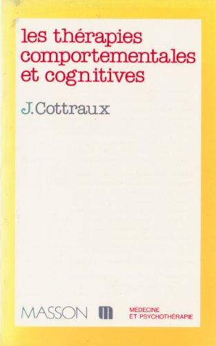 9782225822223: Les Th�rapies comportementales et cognitives